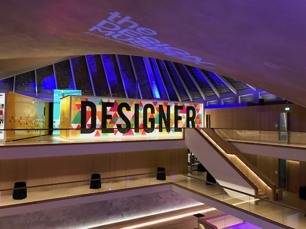 DJing at the new Design Museum