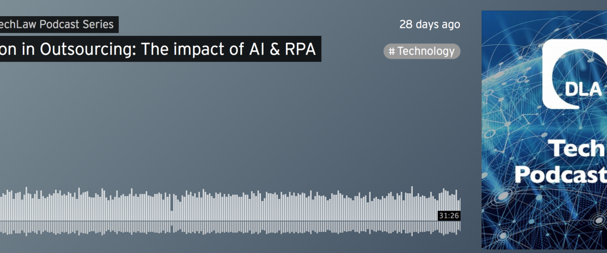 Guest Appearance on DLA Piper's TechLaw Podcast